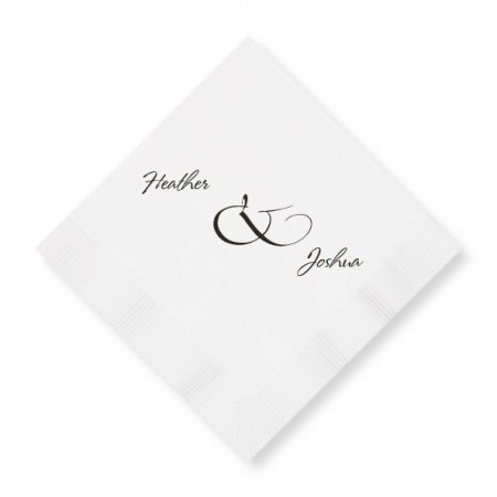 Modern Beverage Napkins SAMPLE