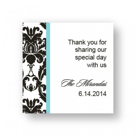Victoria Damask Favor Tags
