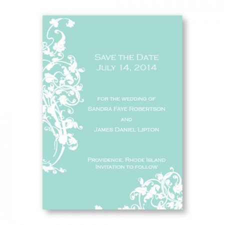 Venetian Romance Save The Date Cards