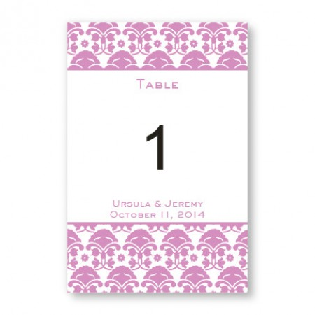 Ornately Yours Table Cards