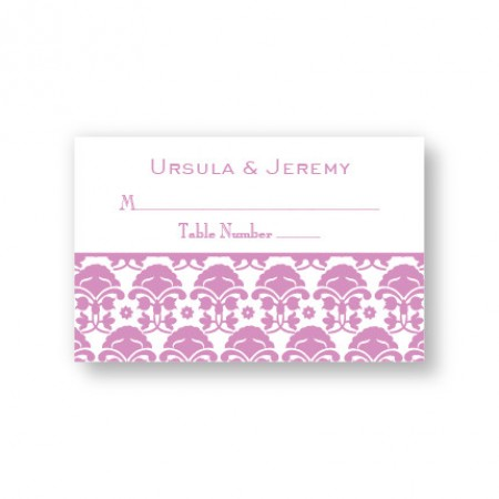 Ornately Yours Seating Cards