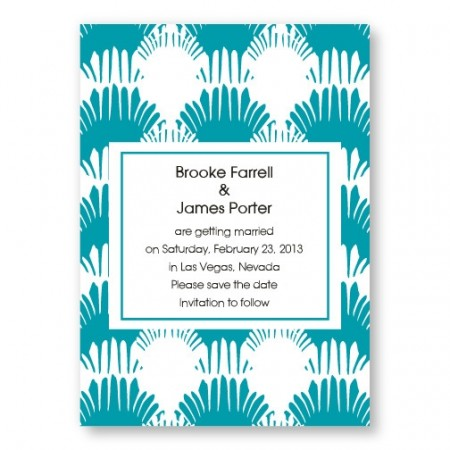 Wedding By the Sea Save the Date Card SAMPLE