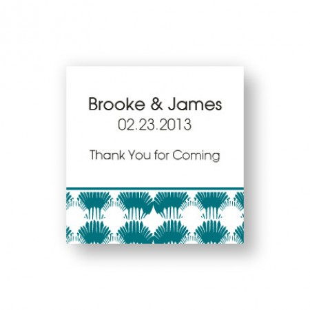 Wedding By the Sea Favor Tags