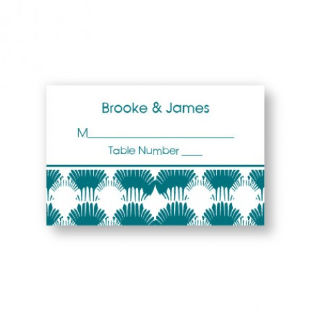 Wedding By the Sea Seating Cards