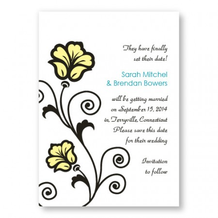 Spring Fling Save The Date Cards
