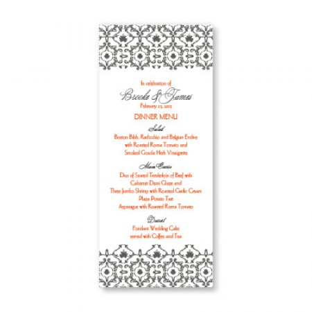 Kismet Menu Cards