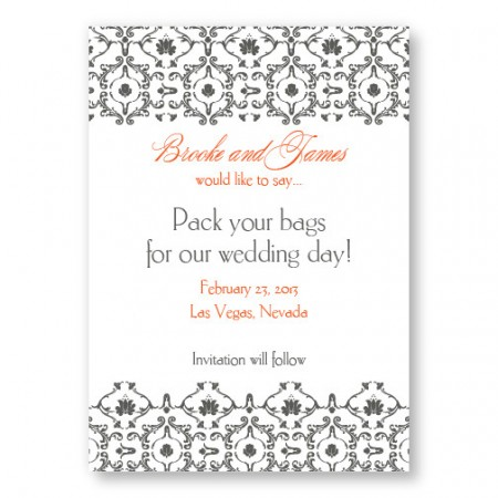Kismet Save The Date Cards