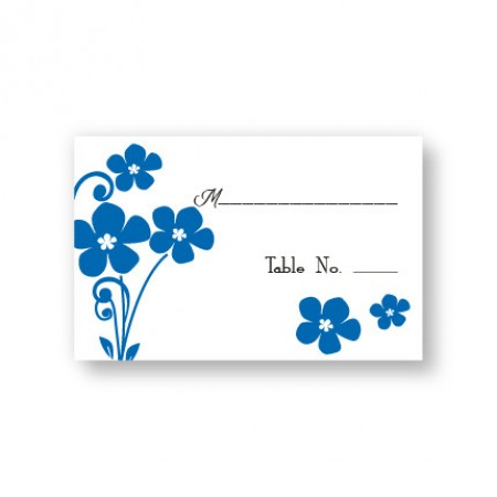 Serenity Seating Cards