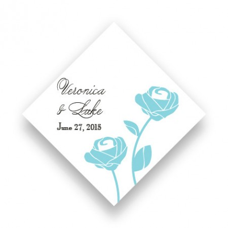 Roses are Forever Favor Tags