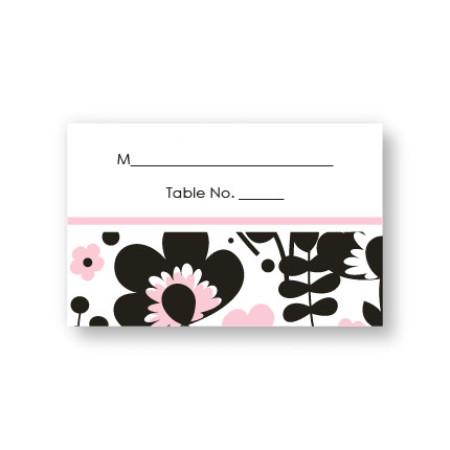 Flower Garden Seating Cards