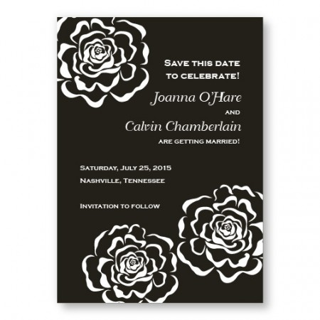 Bella Rose Save The Date Cards