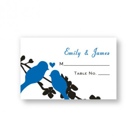 Wings of Love Seating Cards