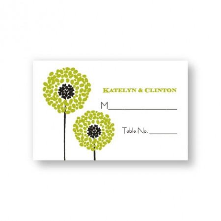 Whimsey Seating Cards