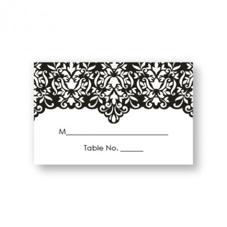 Simply Elegant Seating Cards