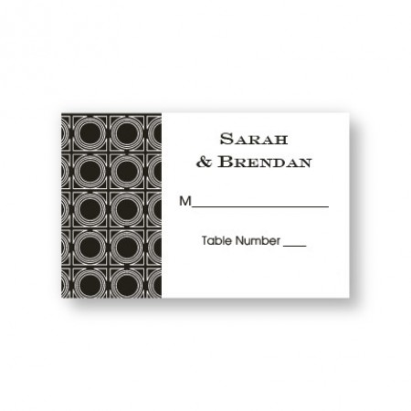 Buckingham Seating Cards