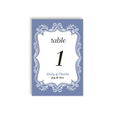 Ornamental Border Table Cards