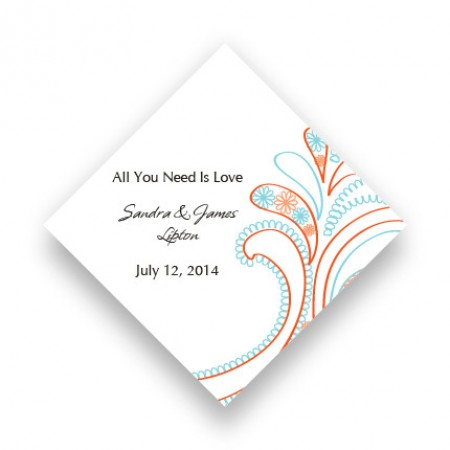 Paisley Perfection Favor Tags