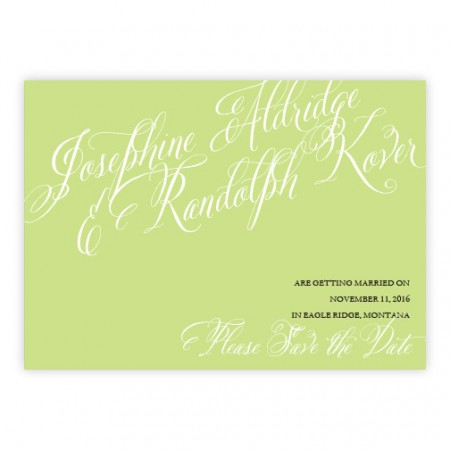 Cora Save The Date Cards