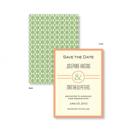 Elle Save The Date Cards