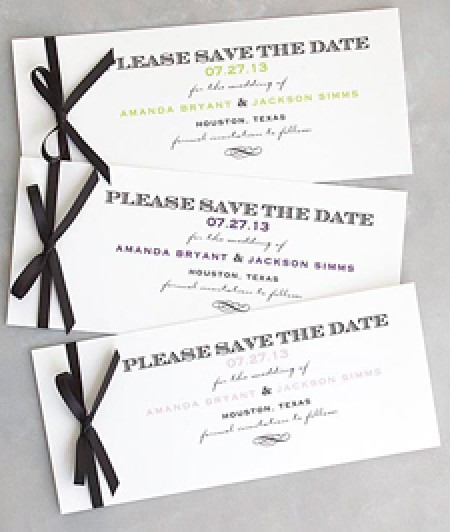 Chevalier Save the Date Cards
