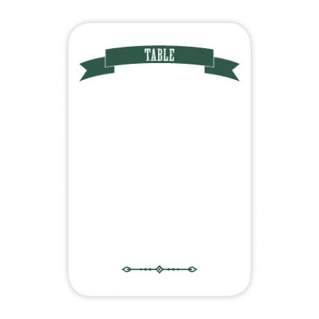 Avery Table Cards