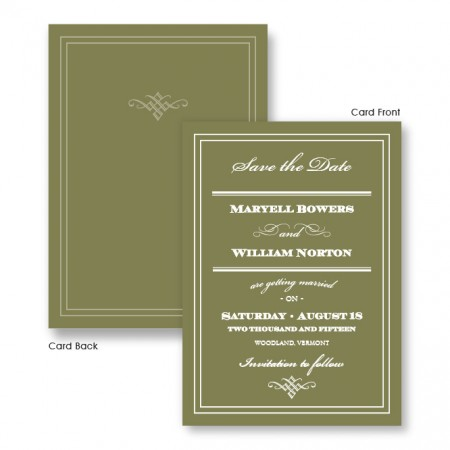 Calista Save The Date Cards