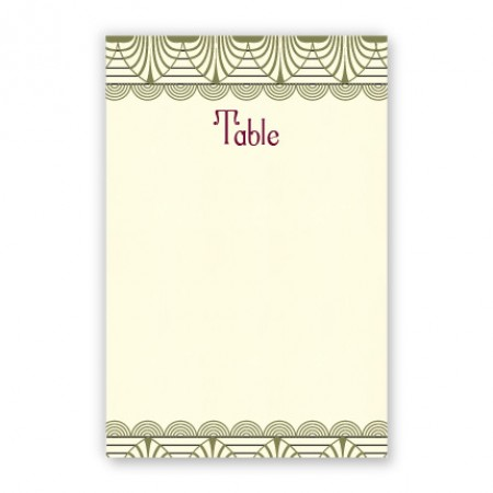Piper Table Cards