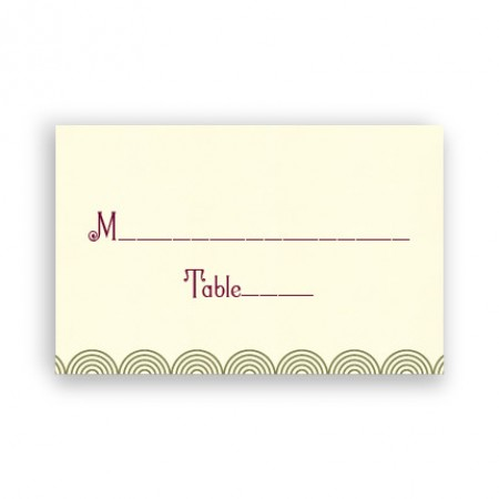 Piper Seating Cards