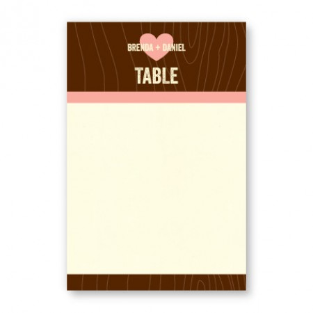 Evie Table Cards