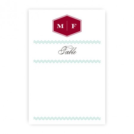 Monroe Table Cards