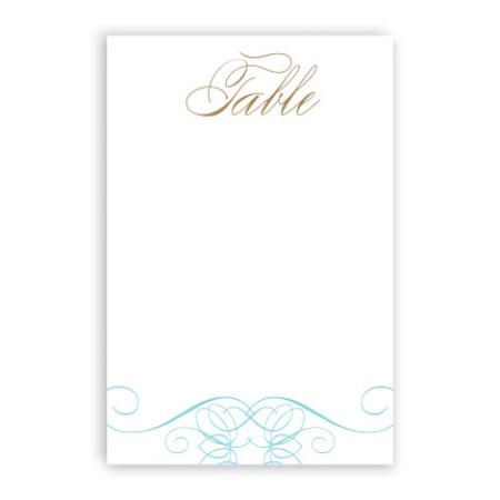 Fallon Table Cards