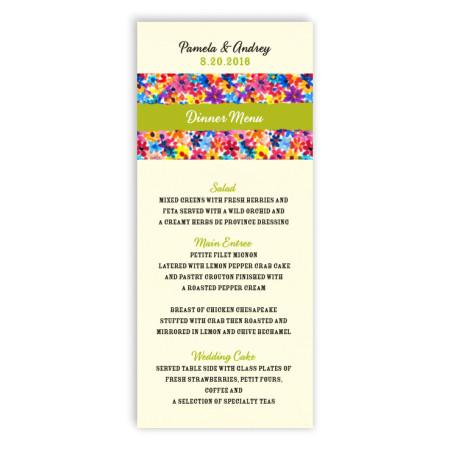 Maysie Menu Cards
