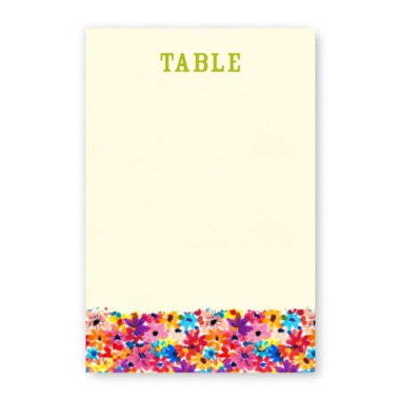 Maysie Table Cards