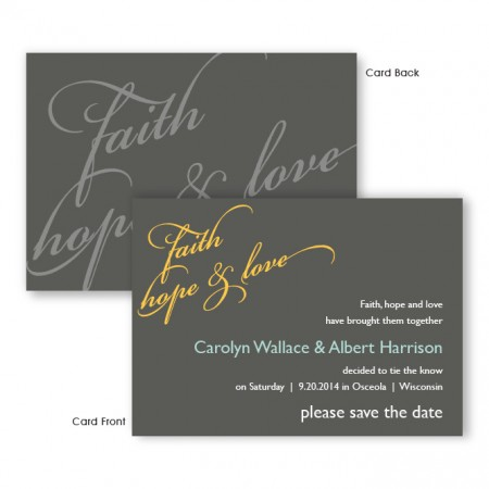 Emerson Save The Date Cards
