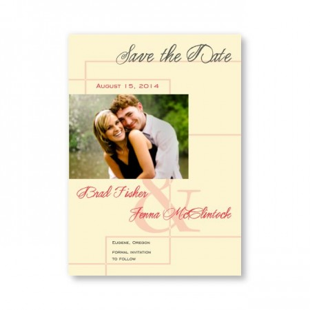 Ava Photo Save the Date