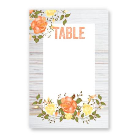 Arianna Table Cards