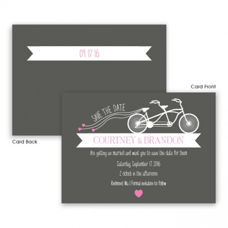 Ruby Save The Date Cards