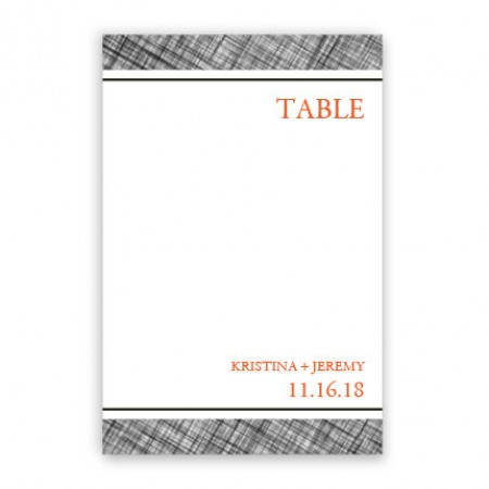 Peyton Table Cards