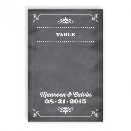 Tarryn Table Cards