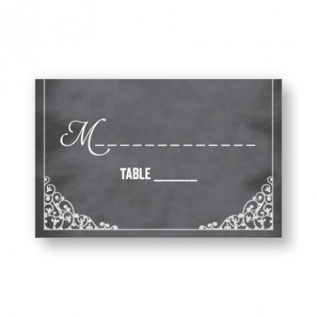 Heidi Seating Cards