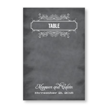 Heidi Table Cards