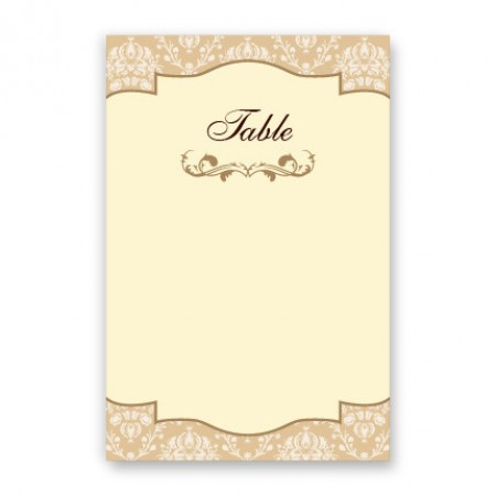 Lindsey Table Cards