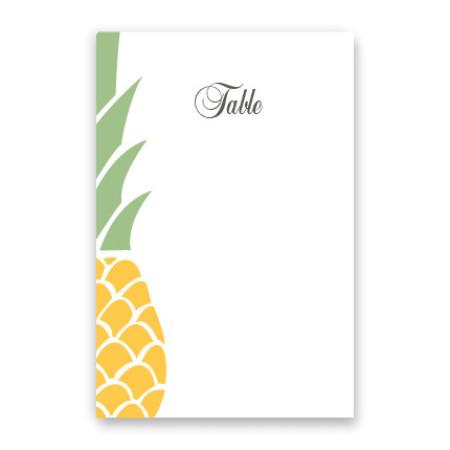 Juliette Table Cards
