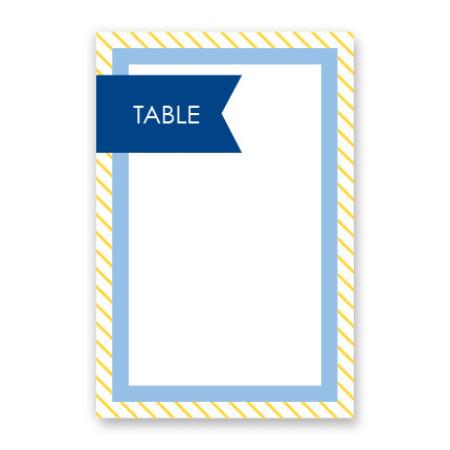 Hadley Table Cards