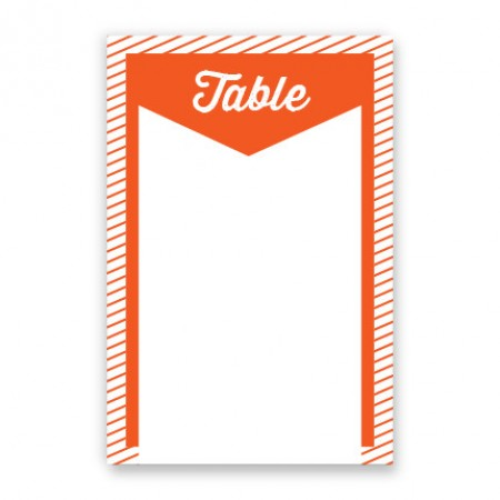 Anya Table Cards