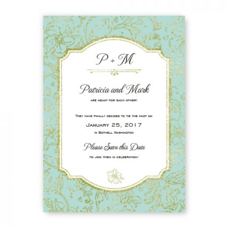 Brianne Save The Date Cards