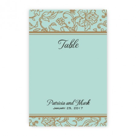 Brianne Table Cards