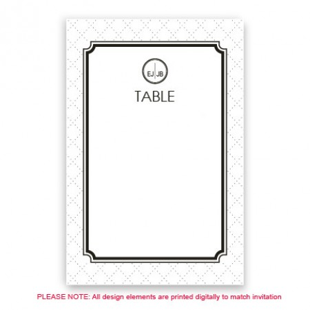 Coco Table Cards