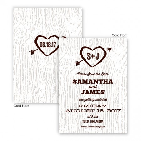 Ingrid Save The Date Cards