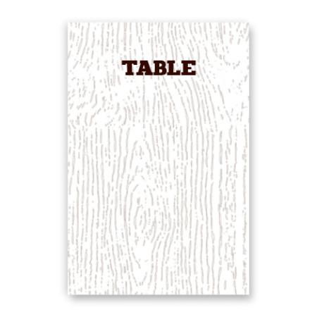 Ingrid Table Cards